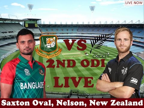 Bangladesh vs Newzealand 2nd ODI Live Streaming (Score) / Saxton Oval,Nelson / CricTV OFFICIAL