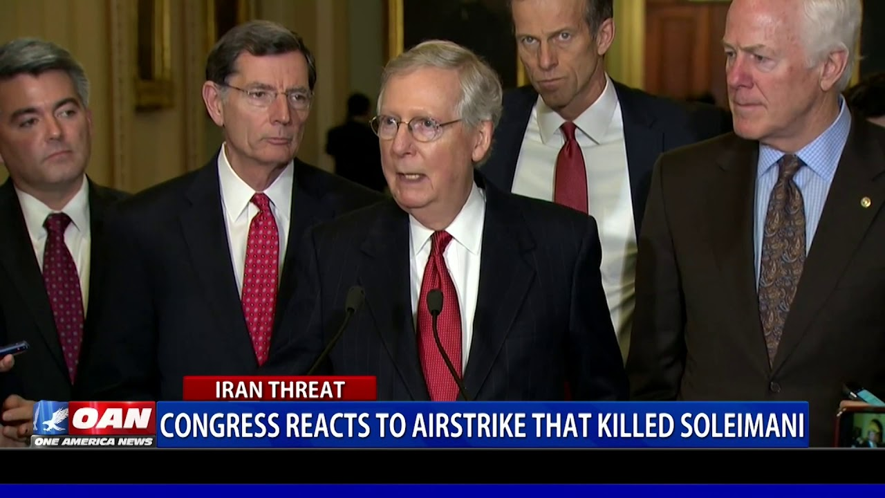 Congress reacts to airstrike that killed Gen. Soleimani - OAN