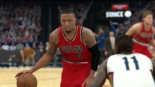 NBA 2K17 THE GREATEST COMEBACK IN NBA HISTORY (Almost)