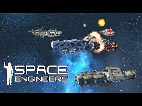 ПРОРЫВ С БОЕМ НА ФАБРИКУ ДРОНОВ И ПЛАНЕТОХОД - Space Engineers #2