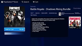How to DOWNLOAD New Shadows Rising Pack in Fortnite... (NOW)
