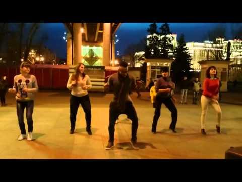 El baile del Guachineo 2015 moscow