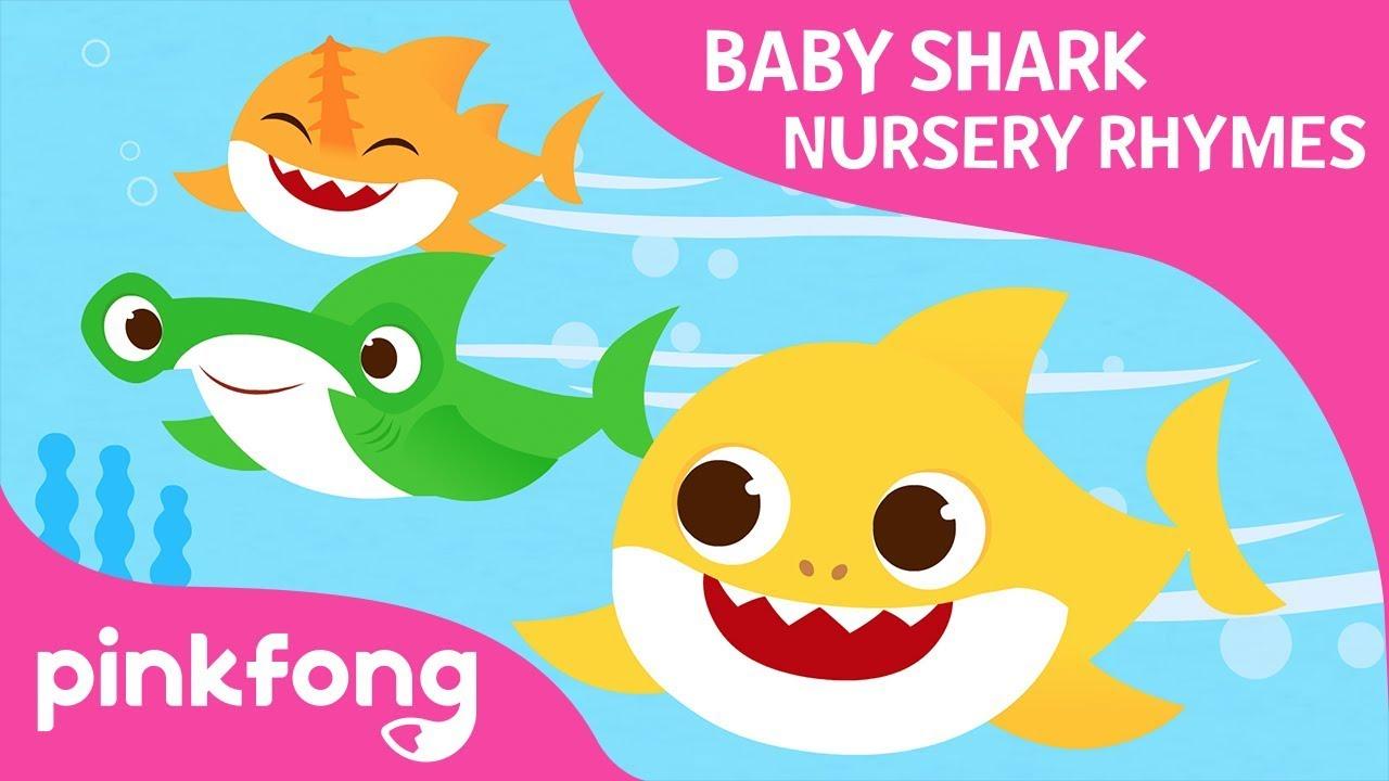 Swimming Swimming | Baby Shark Nursery Rhyme | Pinkfong ...