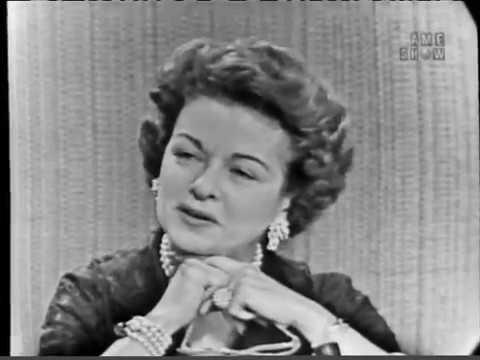 To Tell the Truth - Dr. Seuss; PANEL: Joan Bennett (Apr 29, 1958)