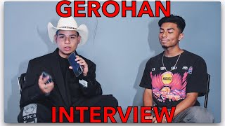 JUICY INTERVIEW WITH GEROHAN IRIAS
