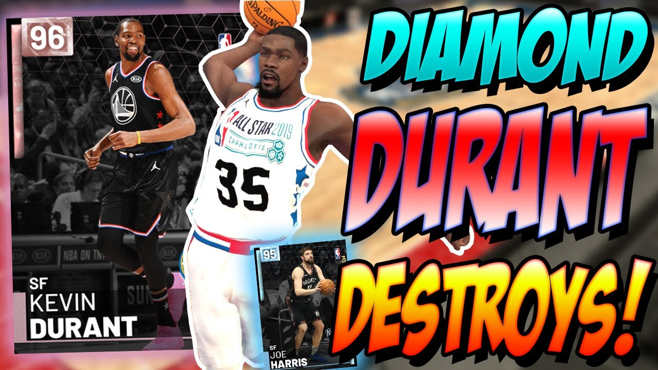 c6aed41ce732 NBA 2K19 MYTEAM PINK DIAMOND KEVIN DURANT GAMEPLAY! THERE S NO WAY ...