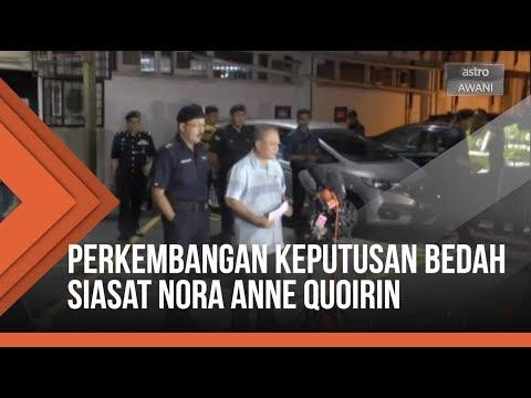 Perkembangan terkini berkaitan keputusan bedah siasat Nora Anne Quoirin