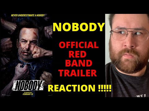 Nobody – Official Red Band Trailer (2021) – REACTION!!!!!