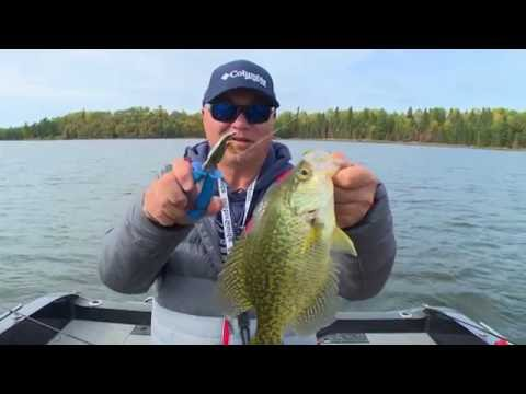 Real Fishing Show - Lake Of The Woods Crappies - Bob Izumi