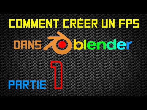 creer un logo blender