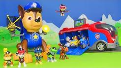 Paw Patrol deutsch: Mission Chase + Feuerwehrmann Marshall Spielzeugautos   Unboxing für Kinder