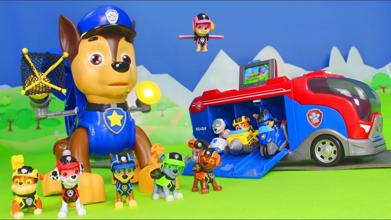 paw patrol deutsch mission chase feuerwehrmann marshall. Black Bedroom Furniture Sets. Home Design Ideas