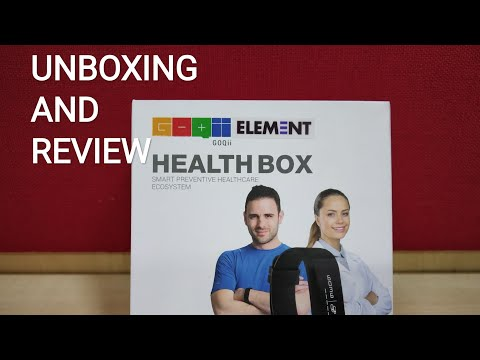 GOQII ELEMENT 2019 | UNBOXING | REVIEW | FITNESS TRACKER