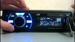 Видео обзор автомагнитолы JVC KD-X30