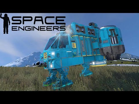 COSTRUISCO NAVE CARGO E MITO CADE NEL FOSSO #10 - SPACE ENGINEERS GAMEPLAY ITA