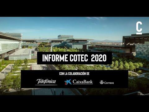 Presentación virtual del 'Informe Cotec 2020'