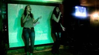 Karaoke con mery. Maria de la ó