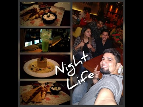 Enjoying Live Music & Dinner At 1 of the best Bollywood Theme Cafe.. Light Camera Action West Delhi