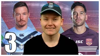 NEW SOUTH WALES VS QUEENSLAND GAME 3 2019 SIMULATION (RLL4)