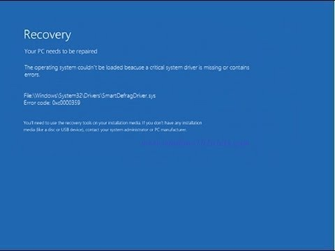 FIX: The Boot Configuration Data For Your PC Is Missing Or Contains
