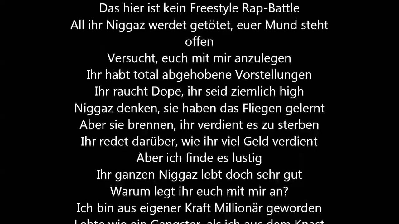 Freestyler Songtext