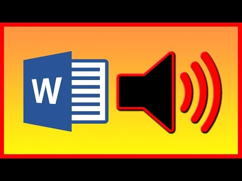 How To Add Text To Speech Option To Word (voice) - Tutorial