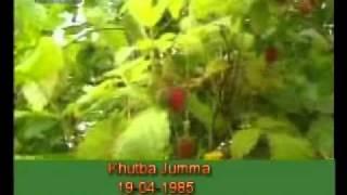 Khutba Jumma:19-04-1985:Delivered by Hadhrat Mirza Tahir Ahmad (R.H) Part 4/5