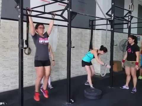 Singapore CrossFit Hub - Kipping Pull Ups Progression Drills