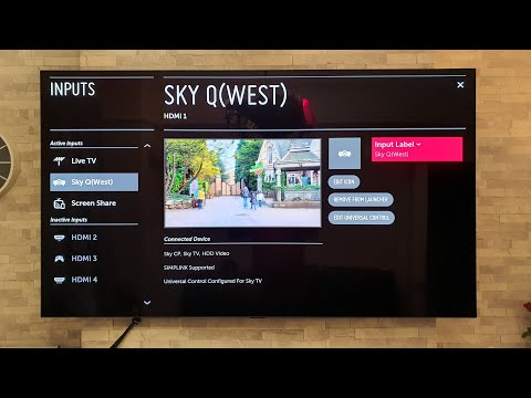 LG OLED,rename HDMI inputs & change icons,QUICK TIPS episode 4