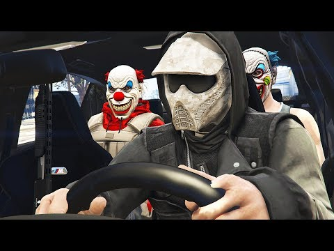 GETAWAY DRIVER & ROBBING STORES!! (GTA 5 Mods)