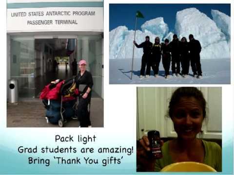 2012-13 Antarctic Logistics Webinar