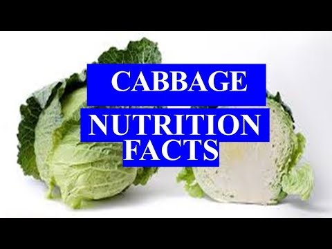 CABBAGE HEALTH BENEFITS AND NUTRITION FACTS