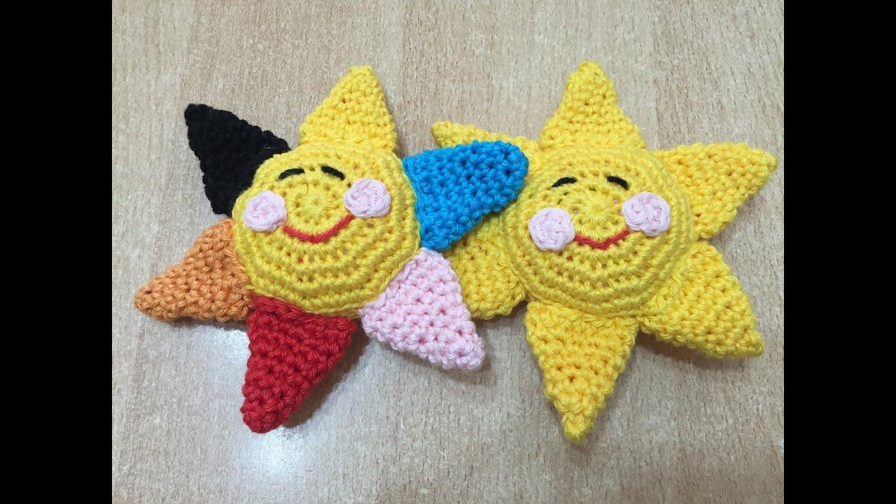 Exceptionnel Tuto Soleil amigurumi au crochet - YouTube QO34