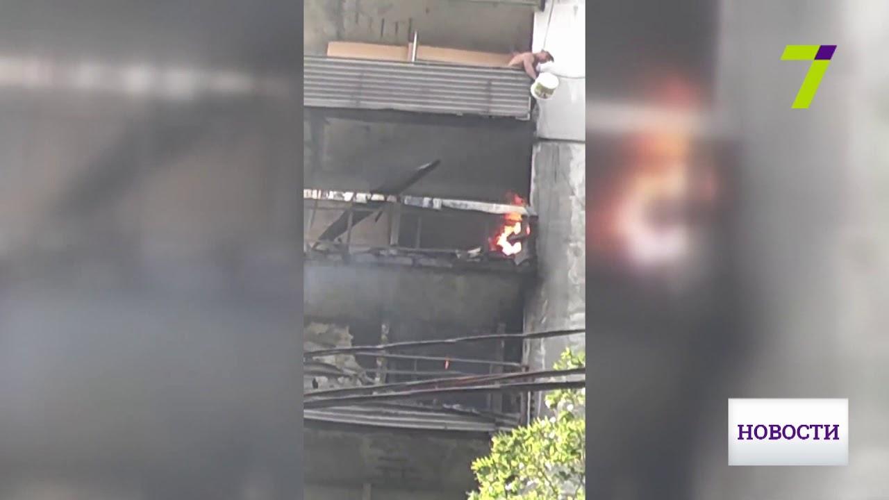 Почти 30 череповчан эвакуированы из жилого дома в связи с пожаром .