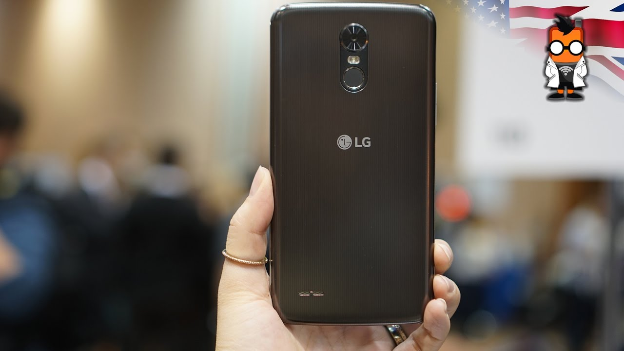 Lg K10 2017 Hands On Youtube