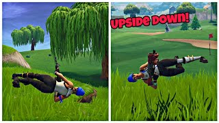 How To Make Character Upside Down in Fortnite Glitch (New) Fortnite Glitches Saison 6 PS4/Xbox 2018