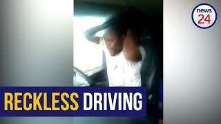 WATCH   Do you know this dancing truck driver? Traffic officials are looking for him