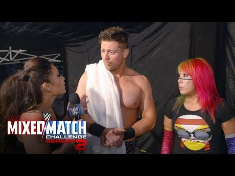Did Miz push Asuka into harm's way?