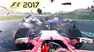 F1 2017 - CRASHES & FAILS