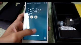 ASUS ZenFone 3 (ZE552KL) 開箱與手機功能介紹!