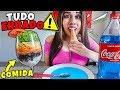 NAMORADA 24 HORAS COMENDO TUDO ERRADO 🍦🔨 - YouTube