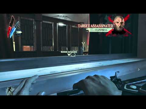Dishonored - Assassinating High Overseer Campbell - Walkthrough Part 12 (720p) |