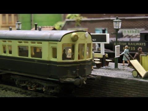 Model Railway in OO Gauge of an Industrial District Railway in the U.K.