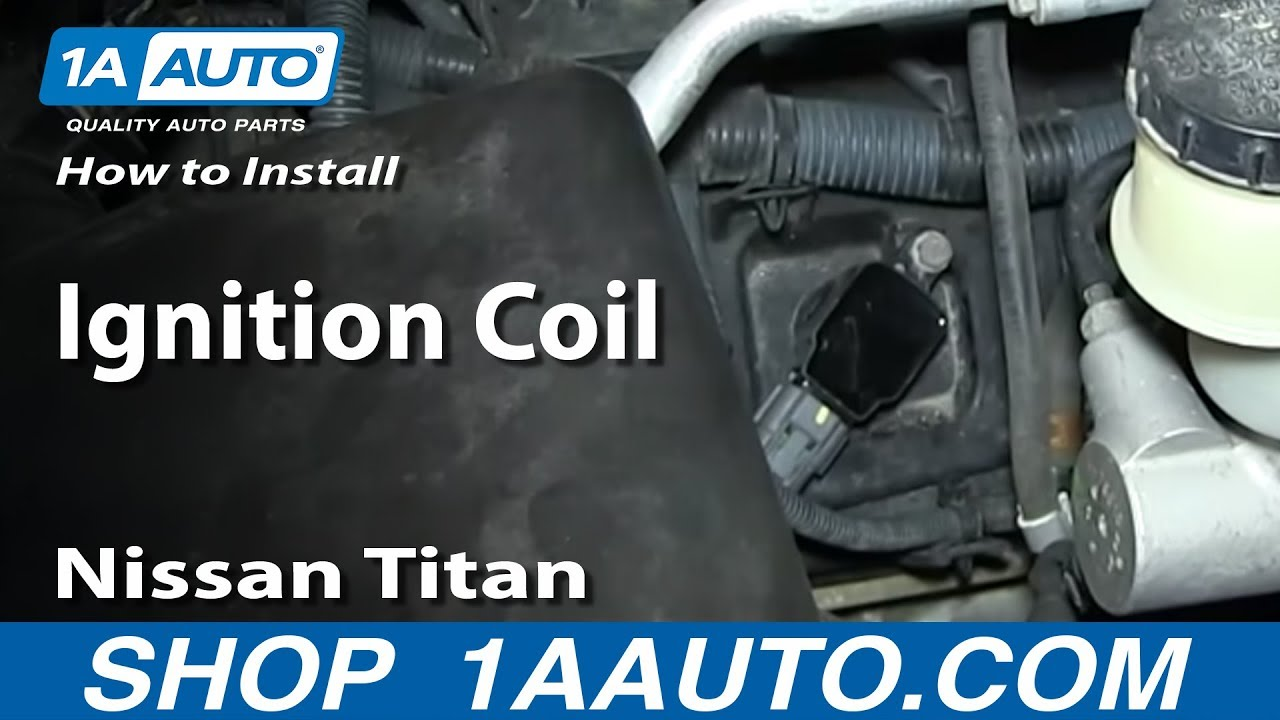 small resolution of how to replace ignition coil 04 06 nissan titan