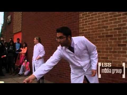 Charnwood College Pink Day - Wet Sponge Contest