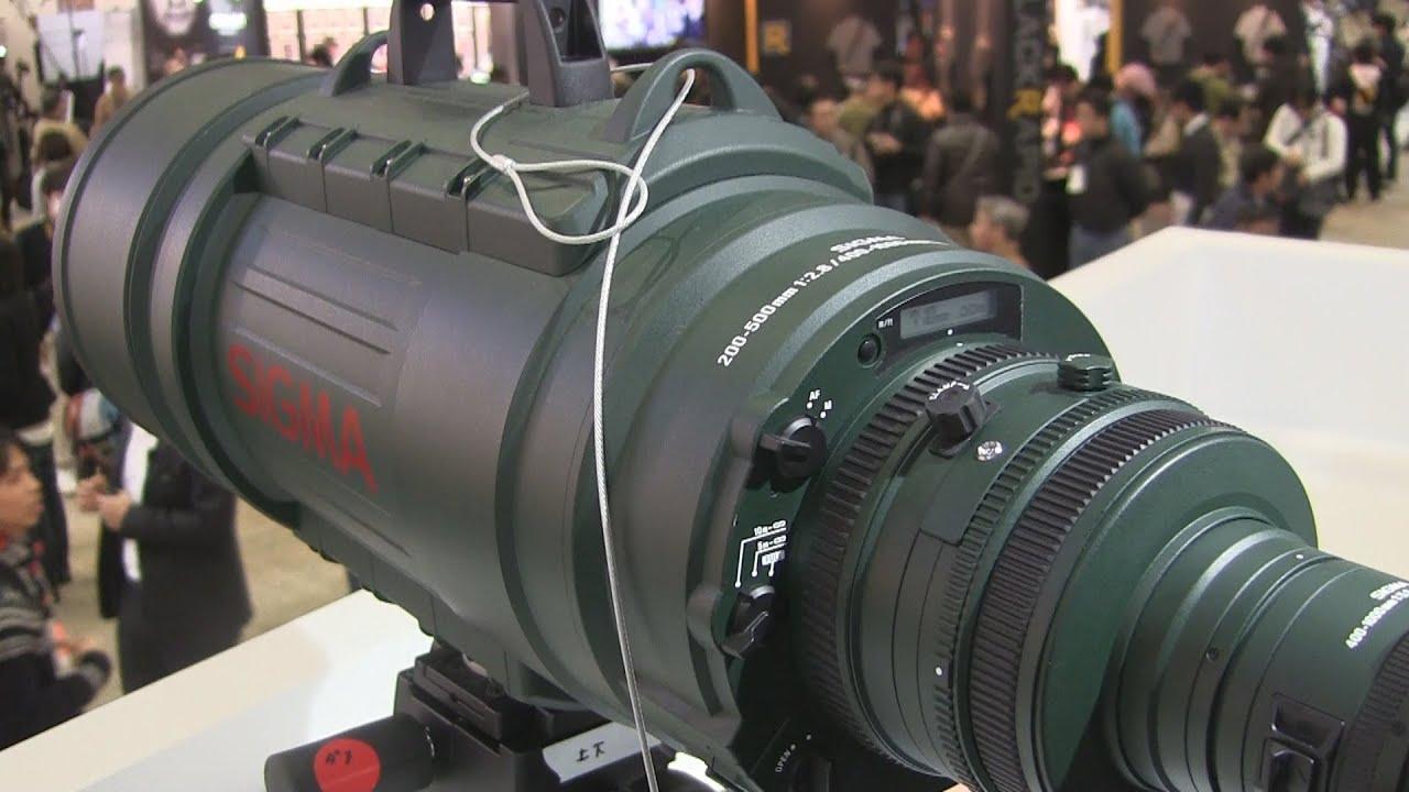 SIGMA APO 200-500mm F2.8 / 400-1000mm F5.6 EX DG レビュー