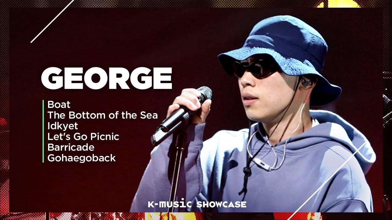 [K-MUSIC SHOWCASE] George (죠지) | DAY 2✯R&B and Alternative Pop✯