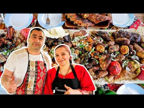ШАШЛЫКИ от настоящего АРМЯНИНА, цыганка готовит.