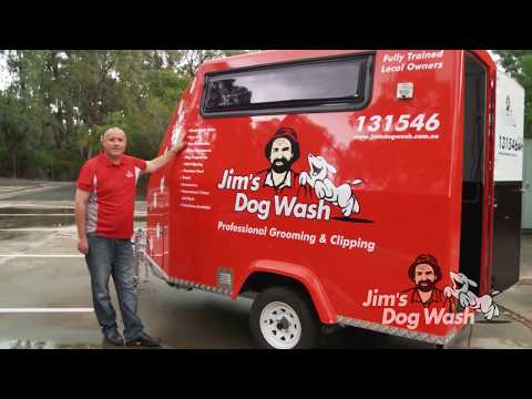 Jim's Dog Wash Trailer | Starting a business with the right equipment | Jim's Group 131 546