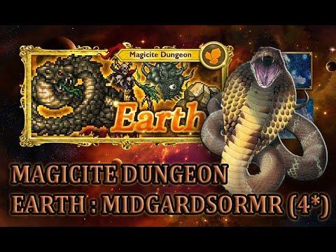 [FFRK] Magicite Dungeon 4* | Earth - Midgardsormr #999